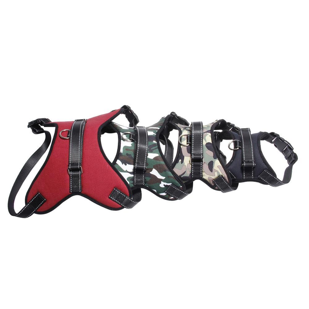Metal Buckle Saddle Dog Collar Saddle Cloth Dog Harness Pet Chest Strap Traction Rope for Medium Large Dog Size