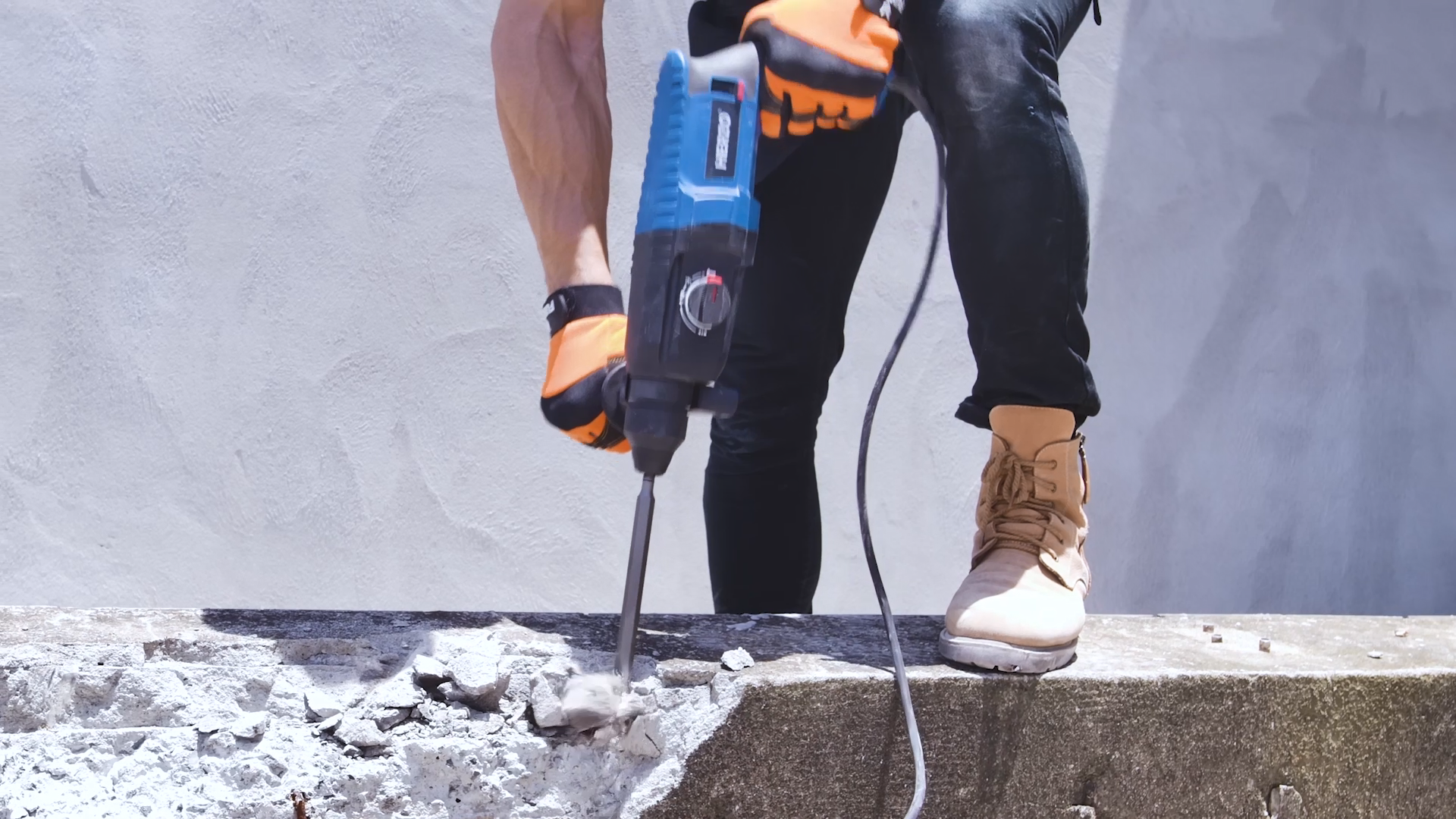 G-max BMC Package SDS-PLUS 900W 26MM Electric Rotary Hammer drill