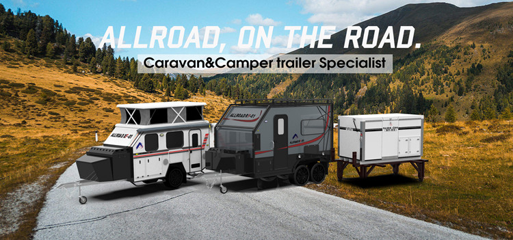 Allroad Factory supplied caravan in travel trailer for sale with good price
