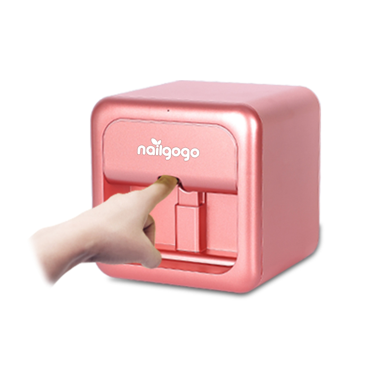 Nailgogo Digitale Elektrische Draagbare Mini Unieke Nail Printer
