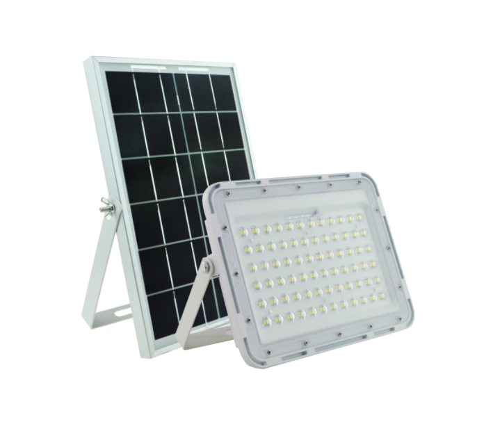 60w Solar Floodlight Led Portable Spotlight floodlight Outdoor Street Garden Light with Remote Control