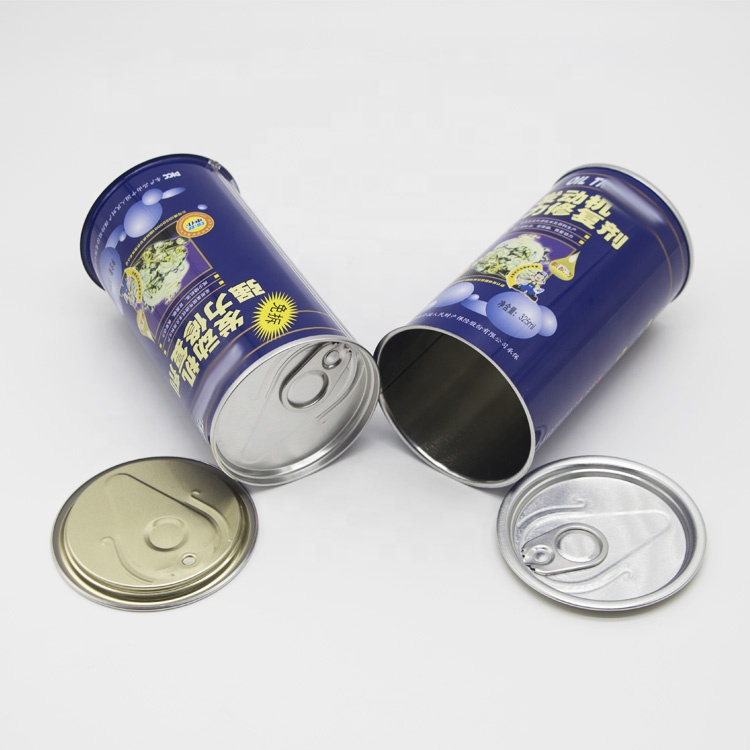 Customized size easy open end top cap for aluminum metal can