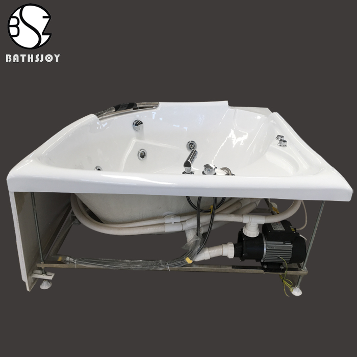 Opblaasbare draagbare spa/bubble jet spa/hot tub/bad/outdoor spa voor 4 persoon MSpa Reve JB-301
