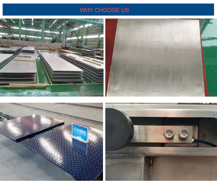 Factory sales Max 5 tons Industrial Stainless Steel Platform Floor Scale