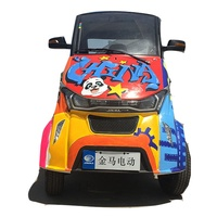 2019 new version high quality 3 seats air conditioning EEC approval L6e electric mini car
