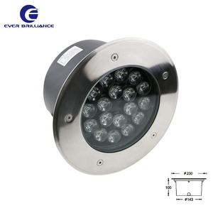 Wholesale corridor flood lamp ip67 inground path spot 18w rgb step light