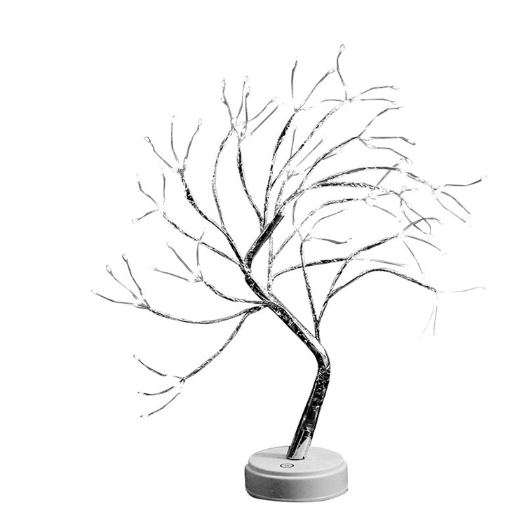 Branch Artificial Lighted Willow Palm <strong>Spiral</strong> Rope Light Christmas Tree
