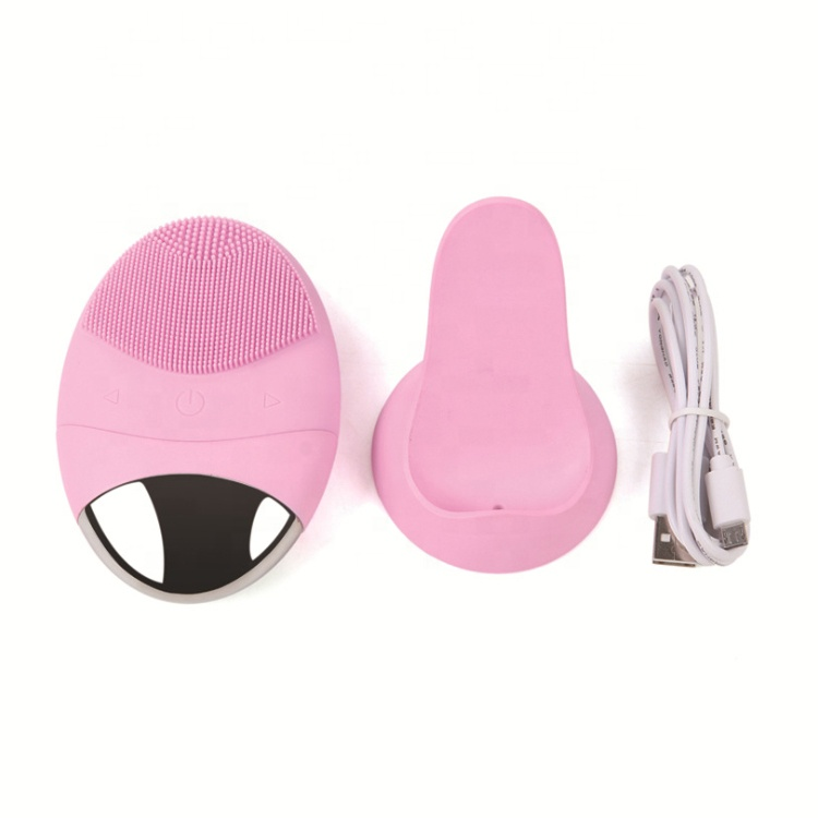 best selling products skin care electric silicone facial cleansing brush