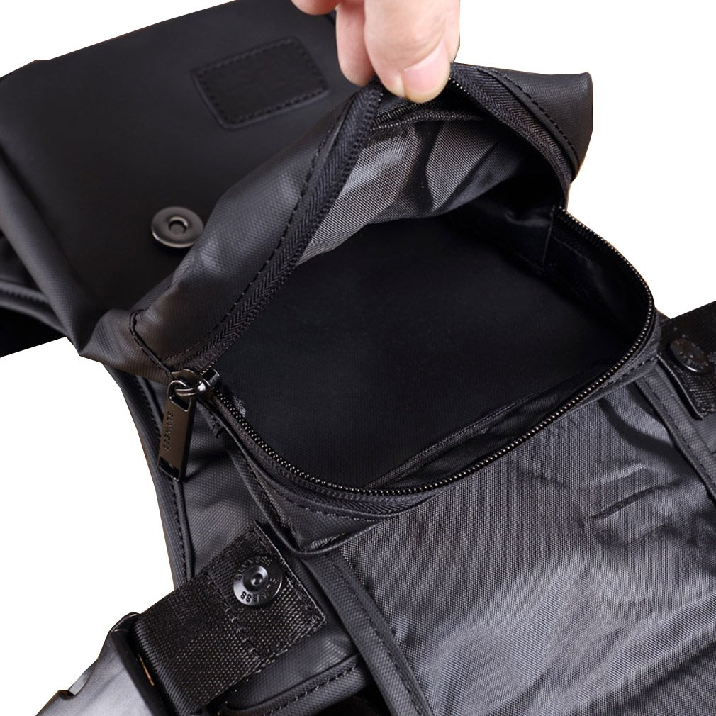 Multi-function outdoor motorcycle bike drop leg bag for men thigh waist fanny pack