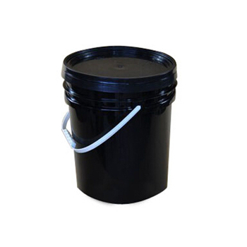 5L/10L/20L Chemical Industry Plastic Bucket With Metal Handle And Lid