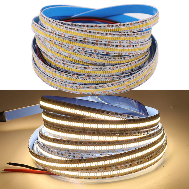 LED Ribbon LED Tape Light 3014 DC12V Warm White Cool White LED Strips 560leds/m Flexible Led Strip Pack of 5m/16.4ft