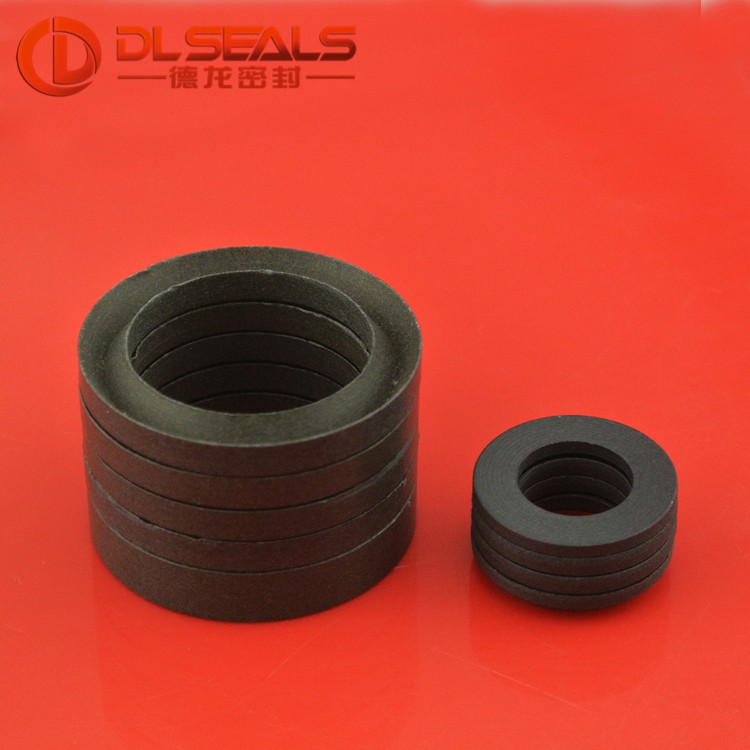 DLSEALS NBR Fabric V chevron seal /vee packing/ v ring seal set 50*70*40 7psc/s