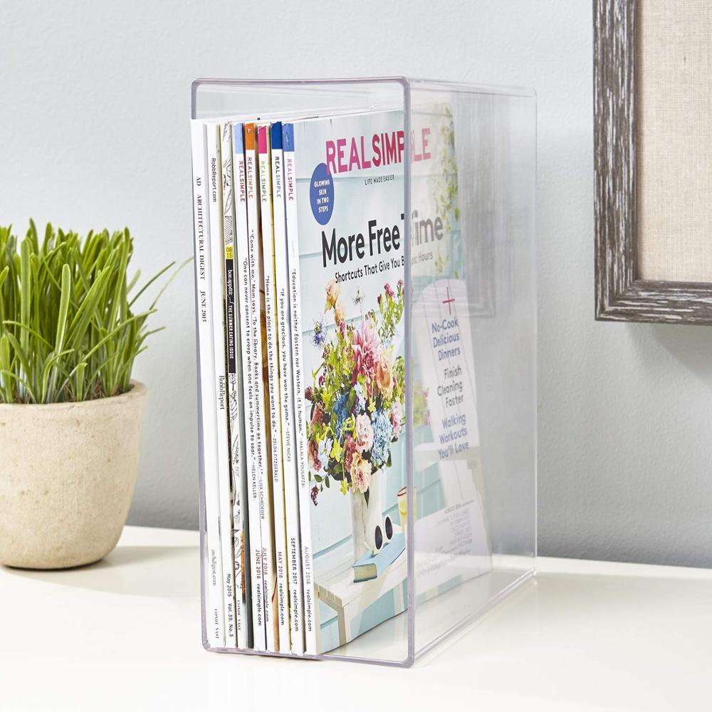 VONVIK Fancy Magazine Holders Home Magazine Organizer Holder <strong>Acrylic</strong>