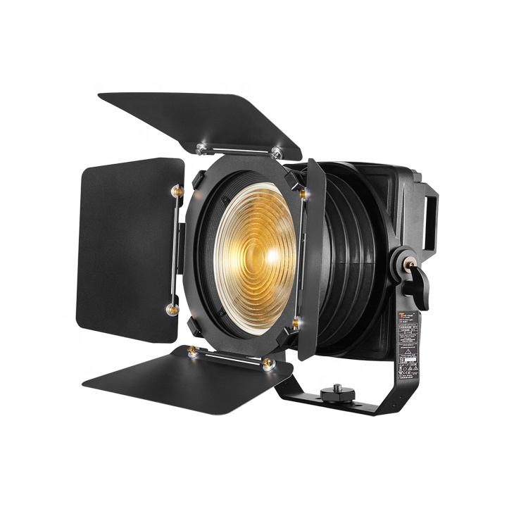 IP65 Rated 200W RGBW LED Fresnel Spot For Film
