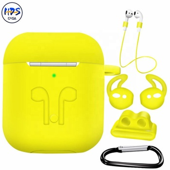 Soft Silicone Shock Proof Protective Case For Airpods 1 2 Earphones