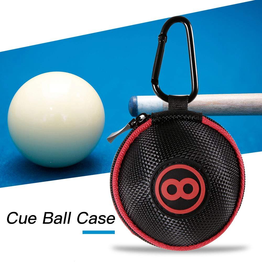 Портативный бильярдный кий шар сумка для переноски бассейн тренировочные шары чехол