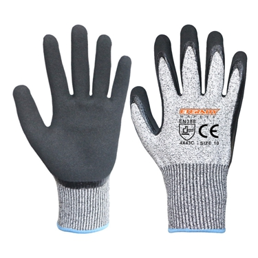 HPPE cut resistant CE level 5 cheap pu palm coating anti-cut gloves