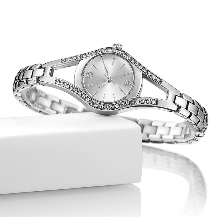 <strong>Women's</strong> bling bling CZ stone Quartz Analog <strong>wrist</strong> <strong>watch</strong> <strong>women</strong> <strong>for</strong> Lady