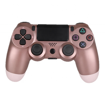 Drop Shipping Rose Gold PS4 Gamepad Controllers Wireless Joystick for PS4