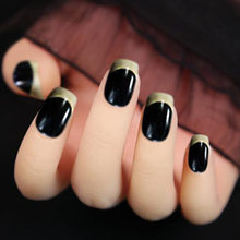 24 шт поддельные ногти отсоединить ногти поддельный цвет клей для ногтей накладные ногти пресс на ногти оптовая торговля ногти советы для ди...(Китай)