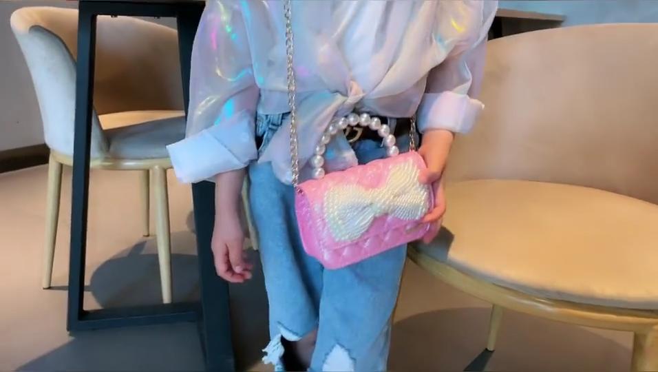 Kinder Umhängetasche One-Shoulder-Mode kleines Mädchen niedlichen Baby 2020 Geldbörse Tasche