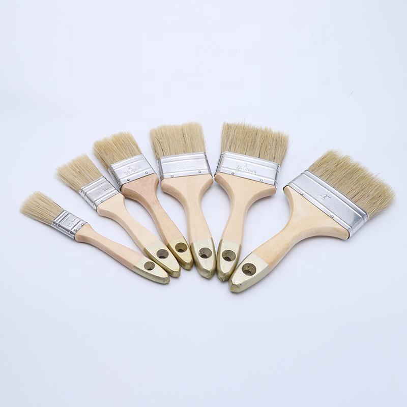 Zld — pinceaux plats multi-usage, brosse à peinture personnalisée, taille 1 ''/1.5''/2 ''x 2.5''/3 ''/4'' pouces, usine nationale