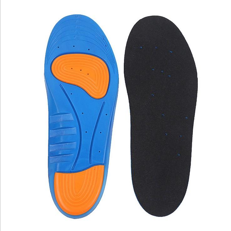 Superfeet azuis inserções sapato de