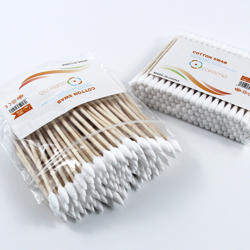 Amazon sharp Wooden cotton buds cosmetic disposable products Top tips