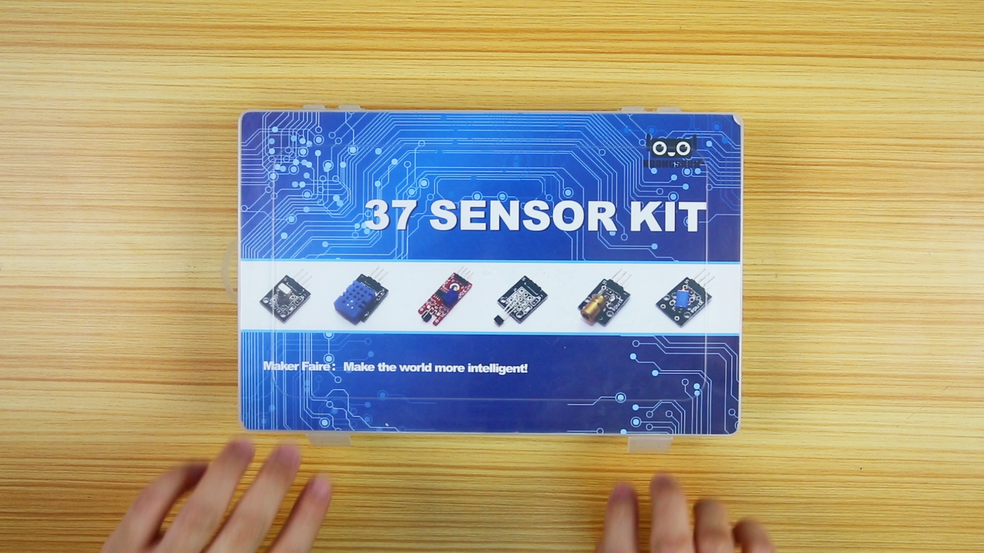 Factory Outlet Upgraded 37 in 1 Sensor Modules Kit with Tutorial / High Quality Case for Uno R3 37pcs Sensor Kit