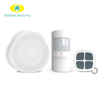 Hot  sale best smart home WIFI alarm system control by tuya app smart home security alarm system