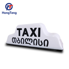 12V led taxi top advertising driving lightbox
