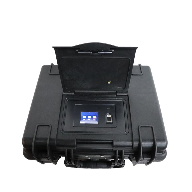Caja de seguimiento portátil rígida a prueba de agua Tsunami IP67 cerradura Digital IOT Gun caja de seguridad