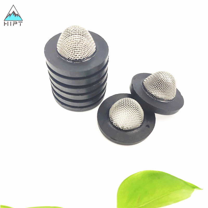 1/2&quot; 3/4&quot; Stainless Steel Filter Strainer with Rubber Edge for Pressure Washer Garden Hose Hookups Intake <strong>Filtration</strong>