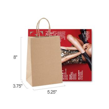 Jiade Factory Directly Hot Selling  Different sizes custom  kraft paper bags with handle
