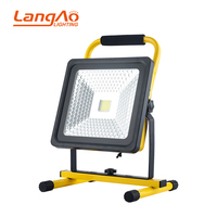 High quality IP65 Waterproof aluminum rechargeable 20 30 50w led flood light