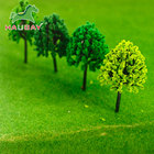 China Manufacturer Ho Scale Model Making Trees Miniature Plastic Trees