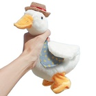 Promotional popular animal staffed toys kid doll talking funny reread duck plush baby toy