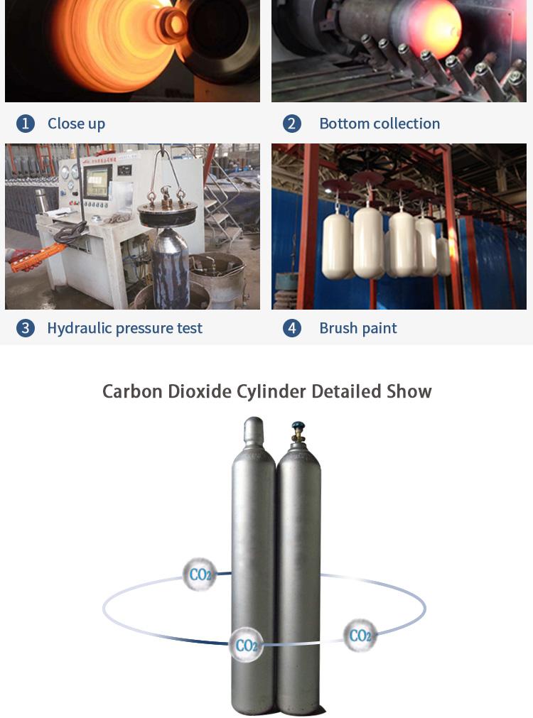 Vloeibare Food Grade Kooldioxide CO2 Prijs