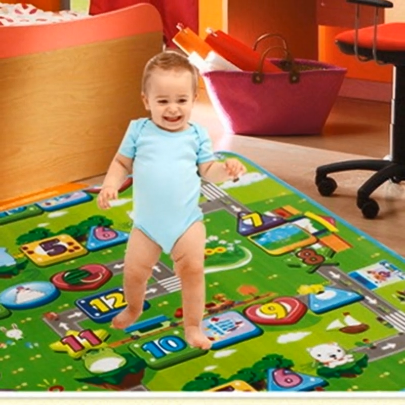 Yiwu Educational Kids Game Toy ECO Waterproof Play Mat For Baby