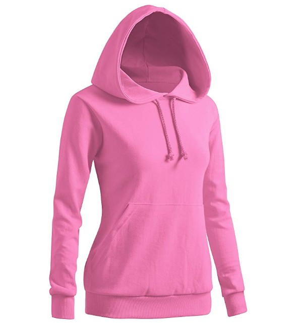 New Fashion Design CVC 60%Cotton 40% Polyester Hoodies  For Woman Pullover Sweatshirt For Lady
