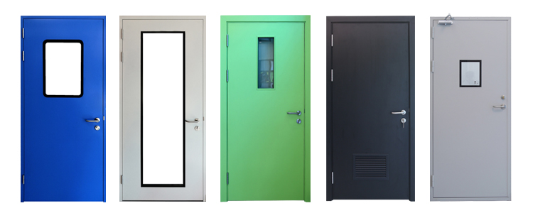 Hospital/School HPL Wood Door With Competitive Price(HD-VN-002)