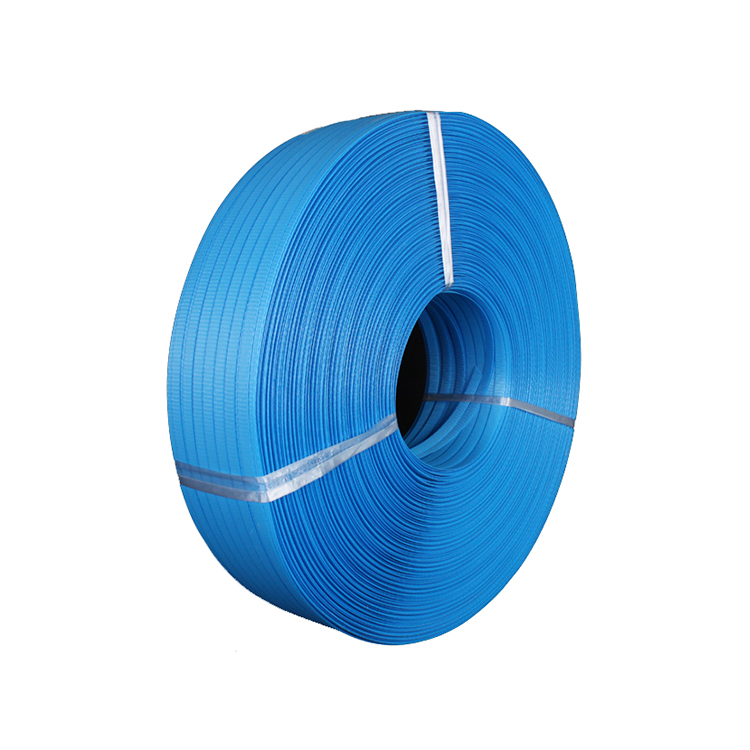 100% Raw Materials Manual Packing Blue PP Box Strapping Roll