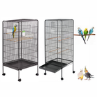 Large Play Top Bird Cage Parrot Finch Macaw Cockatoo Birdcages