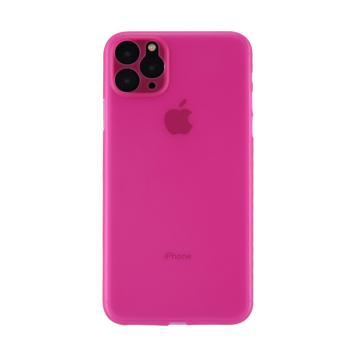USLION ударопрочный матовый чехол для телефона iPhone 11 Pro Max однотонный карамельный цвет чехол для телефона Ультратонкий Жесткий Чехол для задне...(Китай)