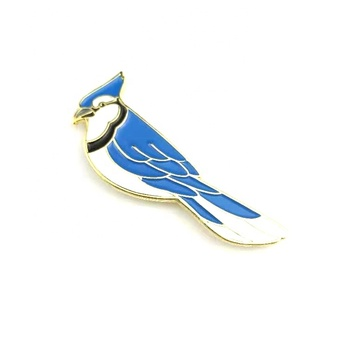 Factory Manufacturers Wholesale Metal soft enamel birds metal lapel pin