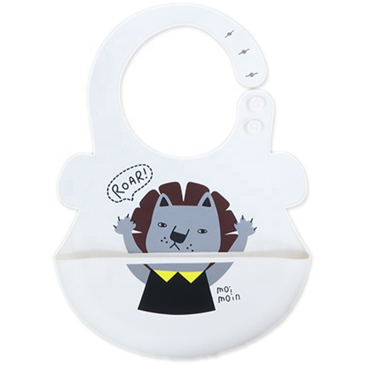 Silicone Baby Bibs Easy to Clean Silicone Bibs High Quality Waterproof