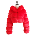 2020 Winter Furs Hot Fashions Women Winter Coat Clothing Long Blue Faux Fox Fur Jackets Fur Coat