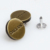 Zinc alloy jeans button remove metal button jeans