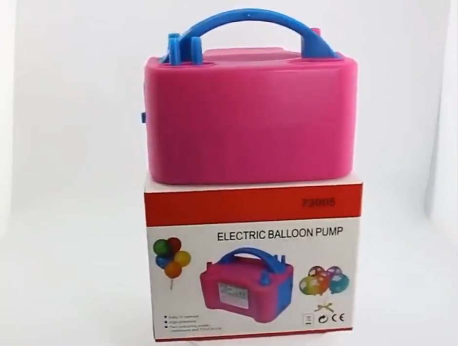 double holes 73005 Electric Balloon pump party supplies new years eve party decoration 110V E0305