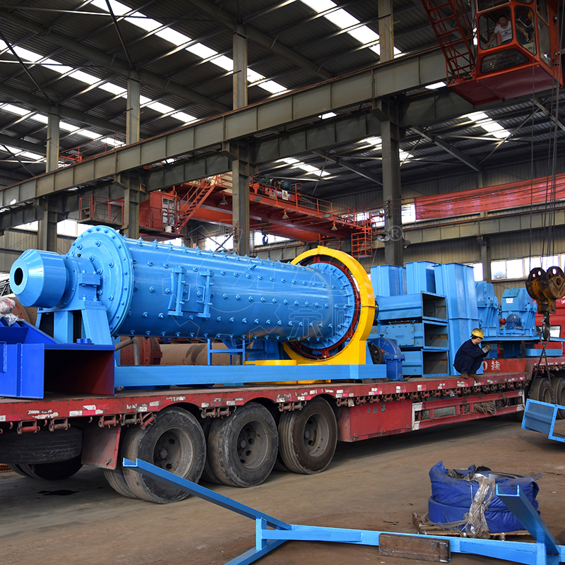 2 tph 50 tpd 50 ton per day 1200 x 2400 Ball Mill for gold mining